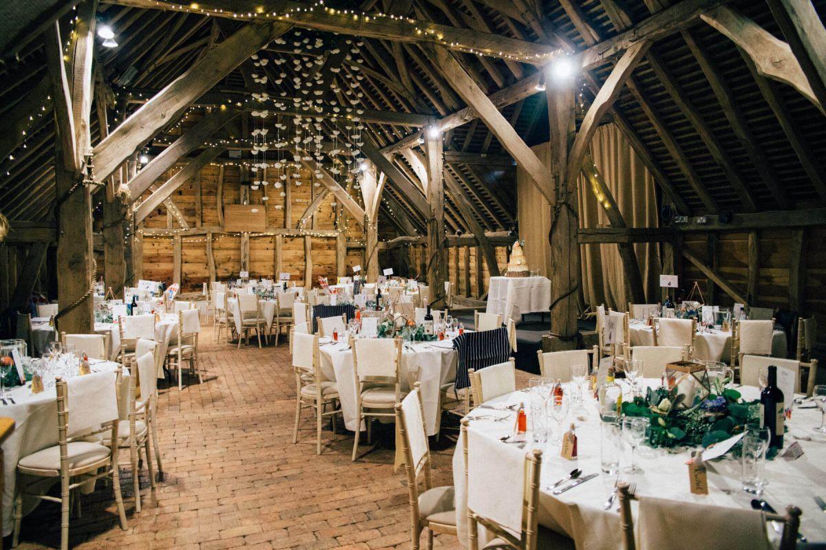 Wedding at Gildings Barns