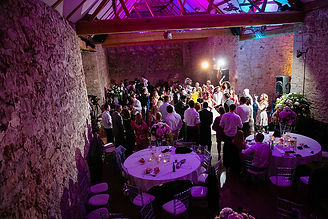 Notley Abbey wedding disco