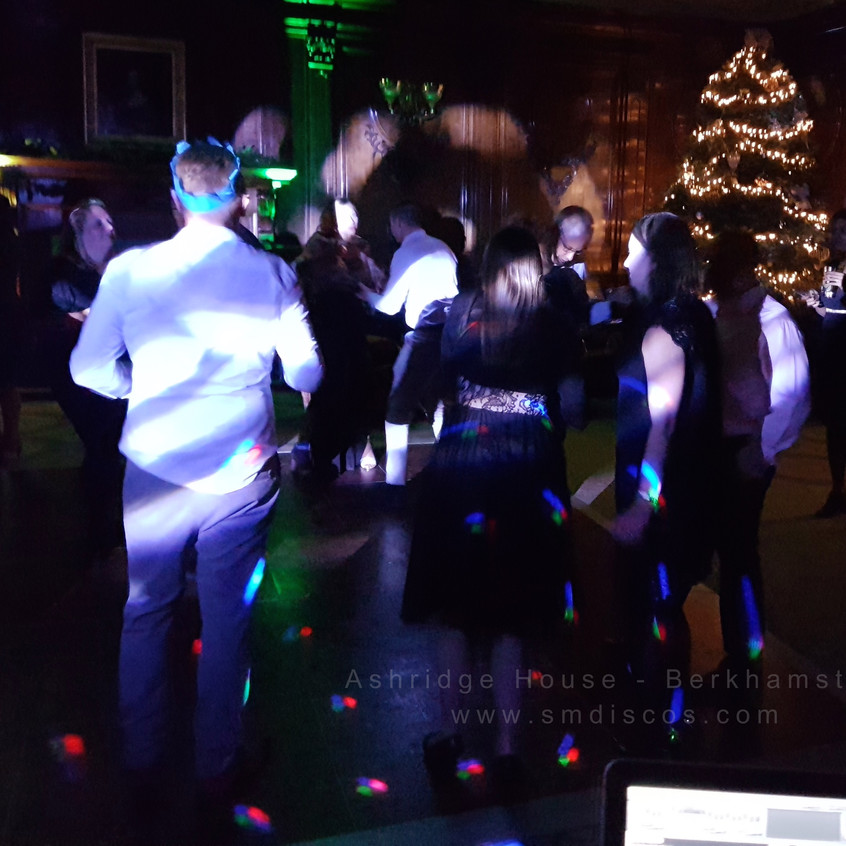 SM Discos Christmas party Berkhamsted