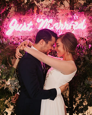 Just Married Neon Sign.jpg
