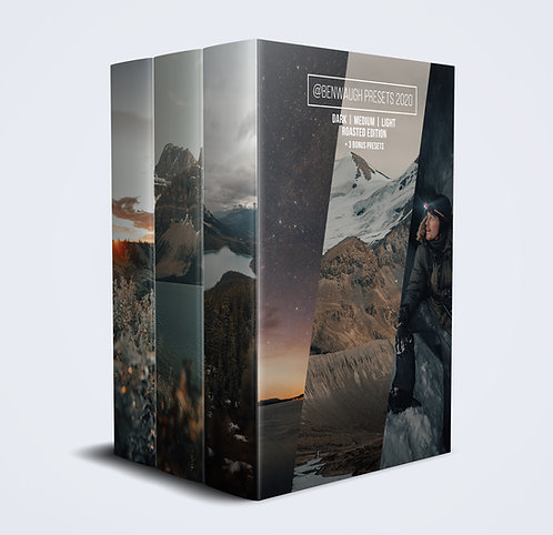 Roasted Edition Preset Pack + 3 Bonus Presets