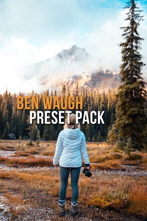 PRESET PACK - @benwaugh