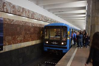"""Станция метро """"Красный проспект"""" в Новосибирске"""