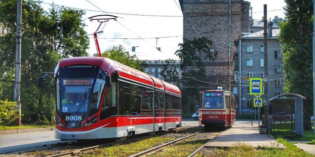 Санкт-Петербург, трамвай №60