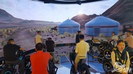 Интерактив в павильоне Республики Казахстан