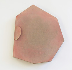 Untitled head (pink ear)