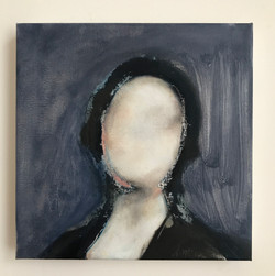 Untitled head (blue/black)