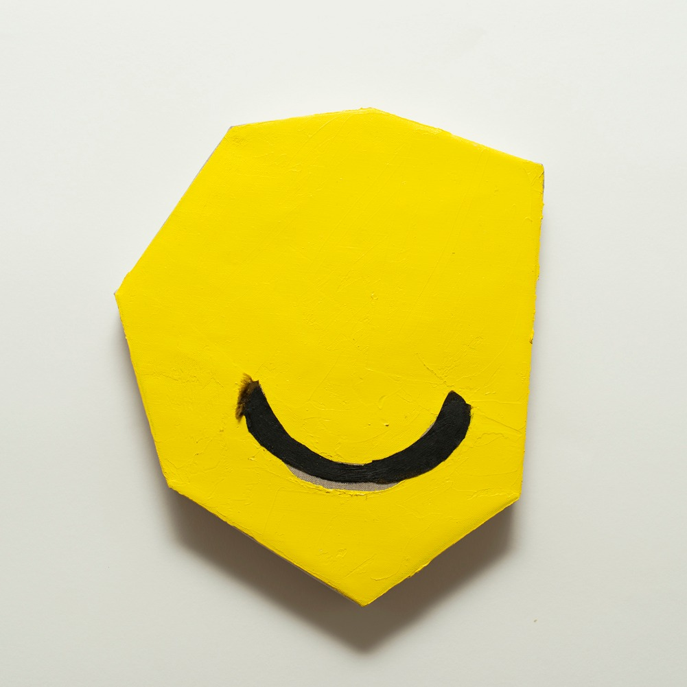 Abstracted head (smile)