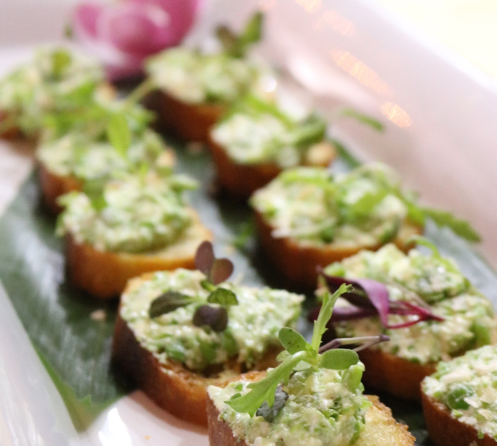 Spring Pea and Ricotta Toasts