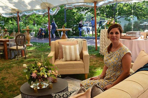 Katie Vitalie In Lounge