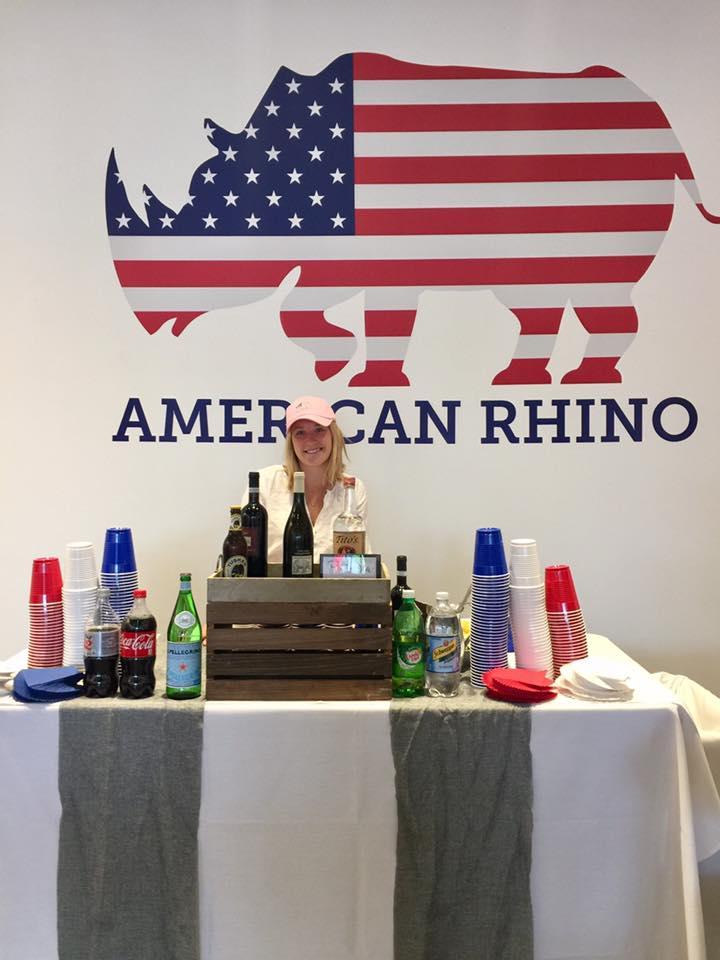 tshcatering, American Rhino Event