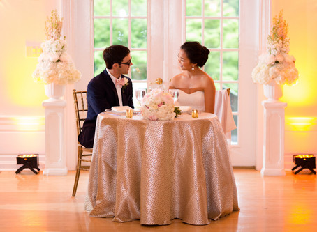 Your Wedding Reception Dinner is the First Meal You Share Together, with Your Family and Friends, as
