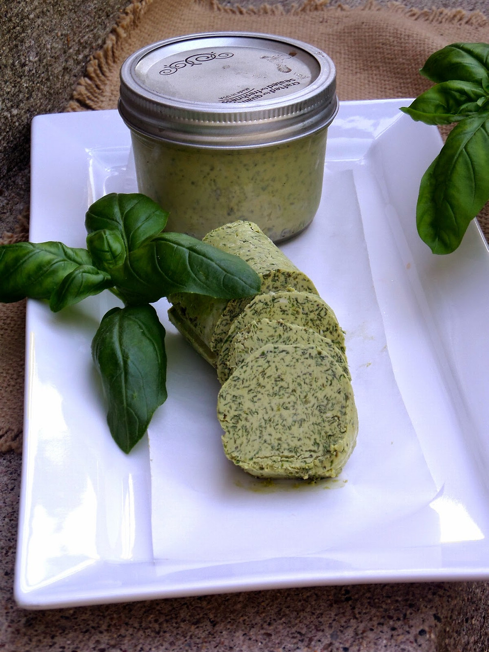 Basil Chive Butter