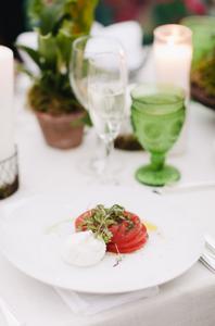 Tomato, Basil + Burrata Salad