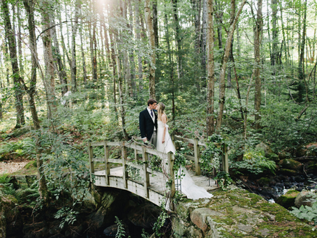 Wedding Spotlight: Catering in the Magical Woods of New Hampshire