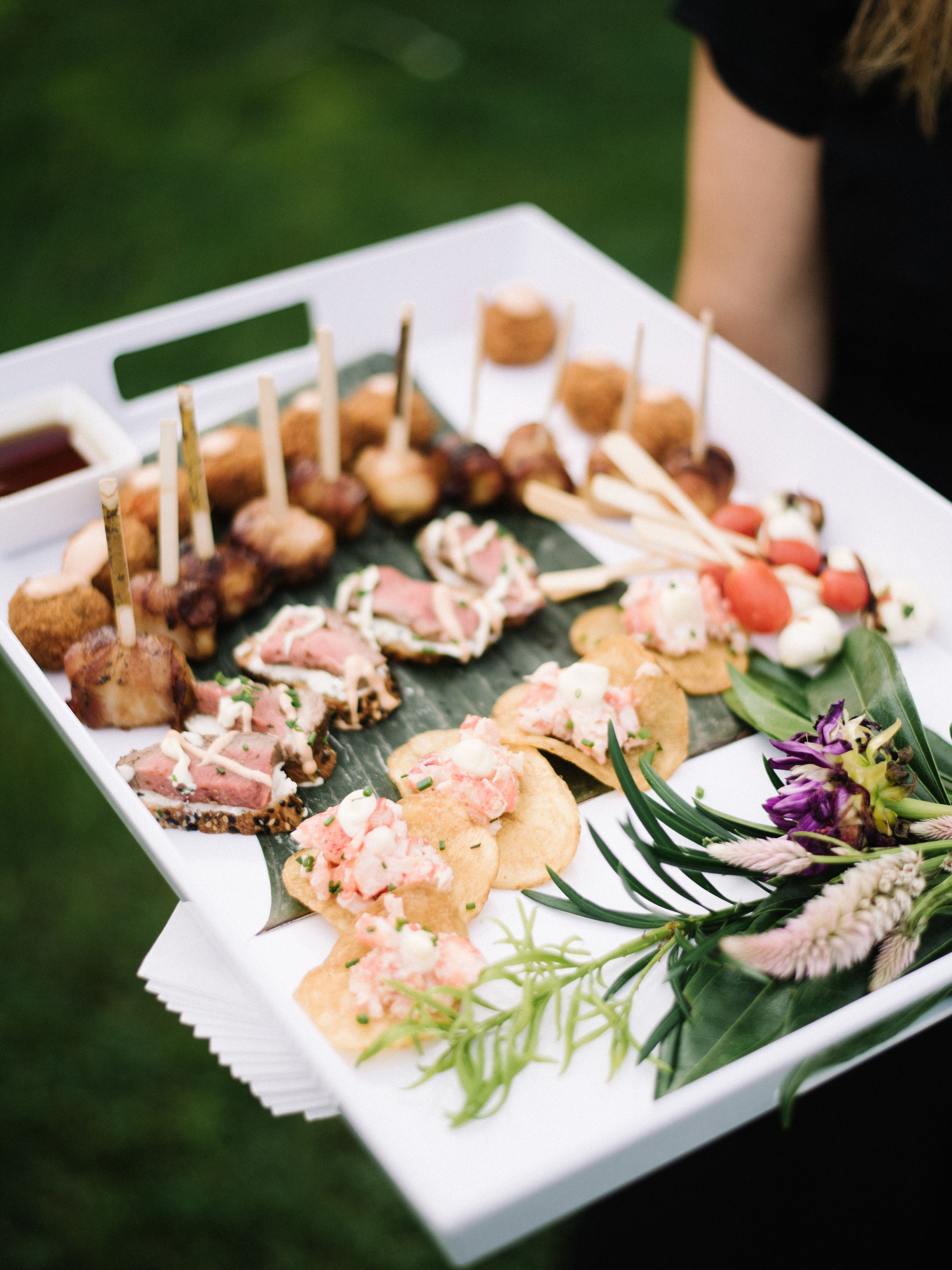 tshcatering hors d'oeuvres