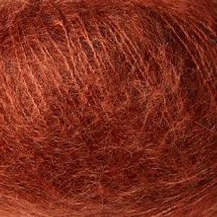 Dusty Robin /Støvet Rødkælk-Soft Silk Mohair