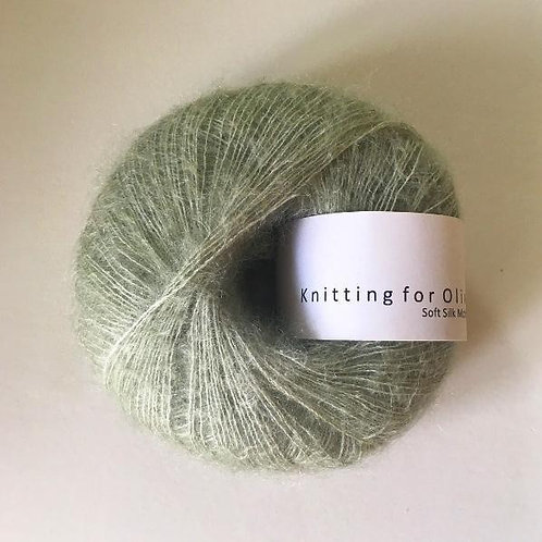 Dusty Artichoke - Soft Silk Mohair