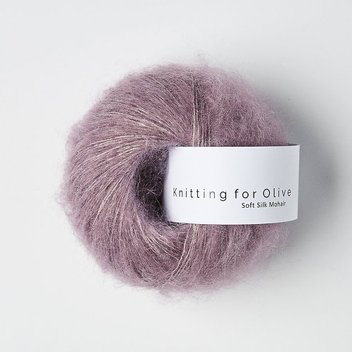 Artichoke Purple - Soft Silk Mohair