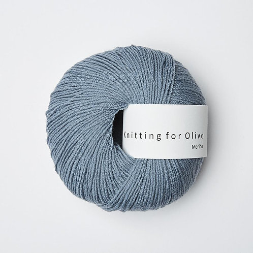 Dusty Dove Blue - Merino
