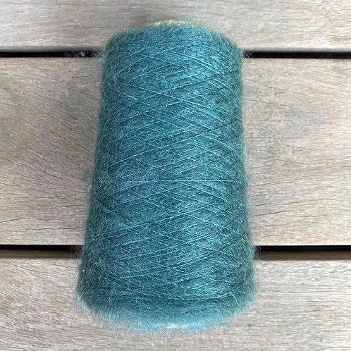 Petroleumgreen- Soft Silk Mohair