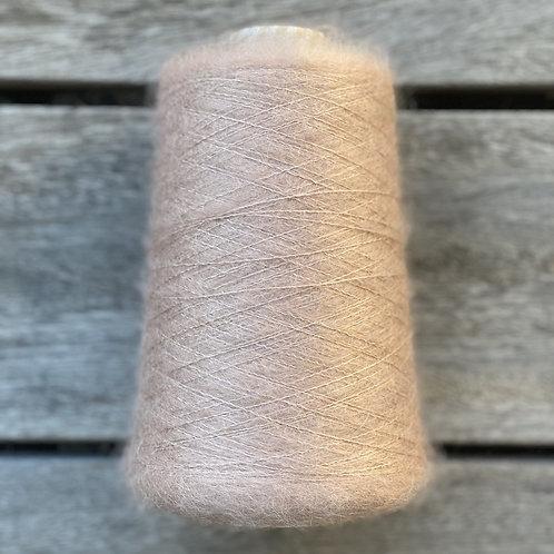 Mushroom Rose- Soft Silk Mohair