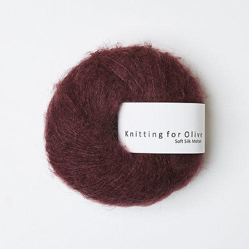 Bordeaux- Soft Silk Mohair