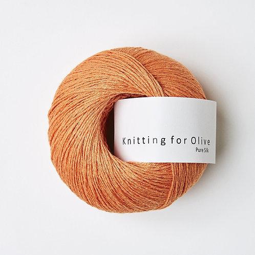 Pure Silk - Mandarin/Orange