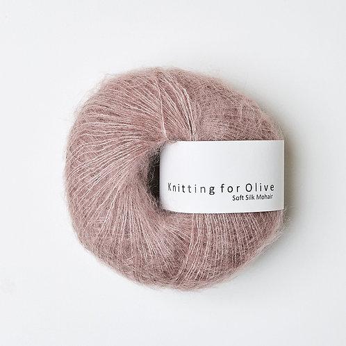 Dusty Rose/ Gammelrosa- Soft Silk Mohair