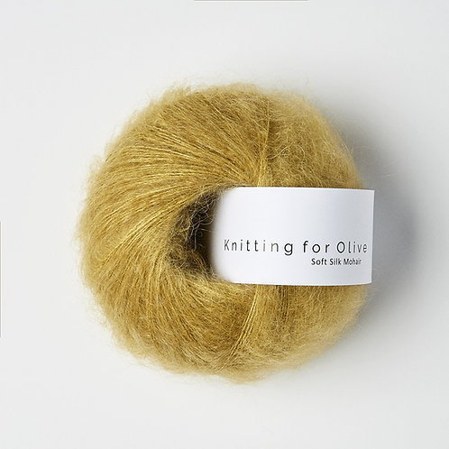 Dusty Honey / Støvet Honning- Soft Silk Mohair