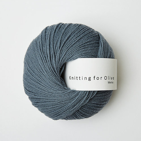 Dusty Petroleum Blue - Merino