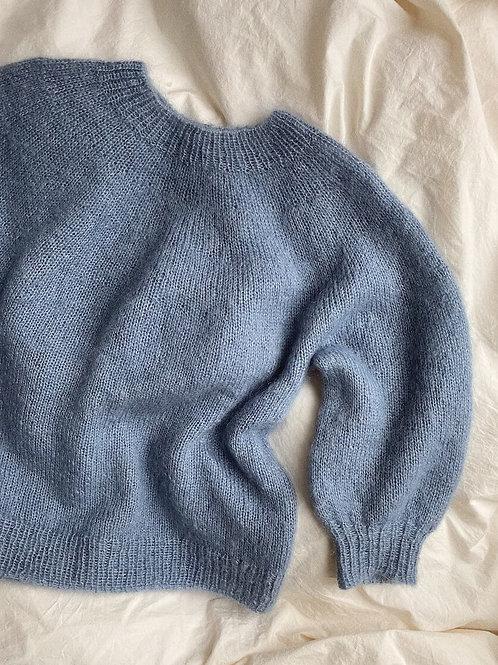 Novice Sweater – Mohair Edition- PetiteKnit
