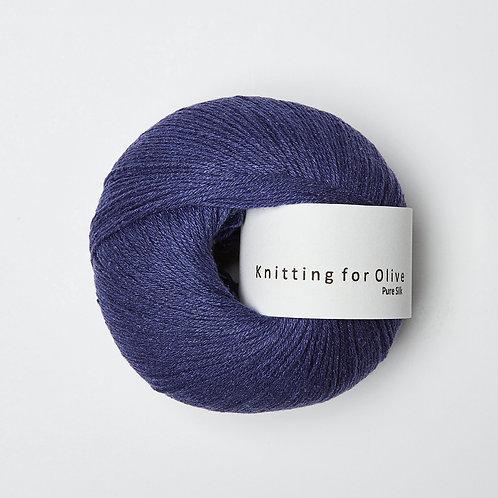 Pure Silk - Blå Kornblomst / Cornflower Blue