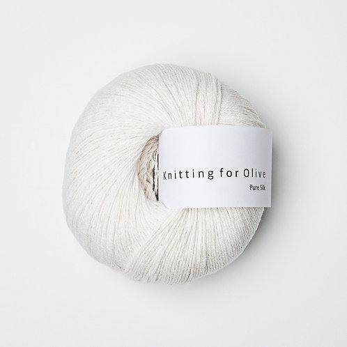 Pure Silk - Fløde / Cream