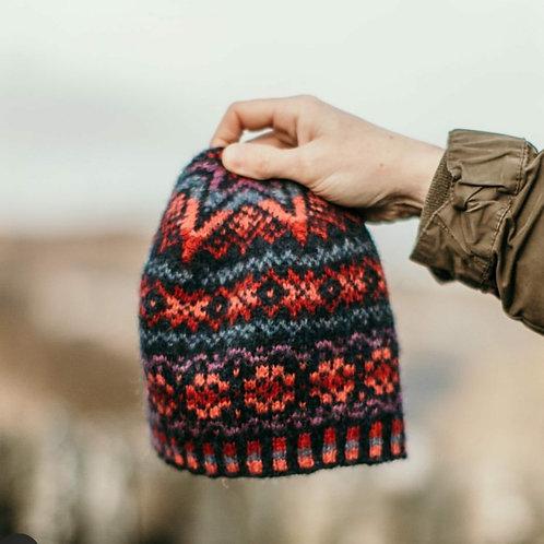 Shetland Wool Week röd/ blå