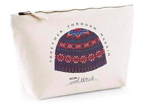 Shetland Wool Week projektväska