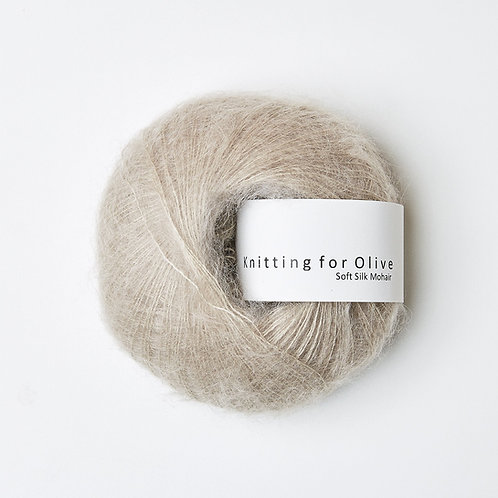 Oat/ Havre- Soft Silk Mohair