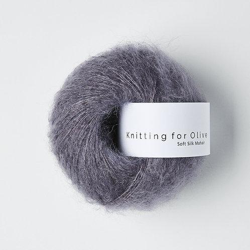 Soft Silk Mohair - Støvet Viol / Dusty Violet