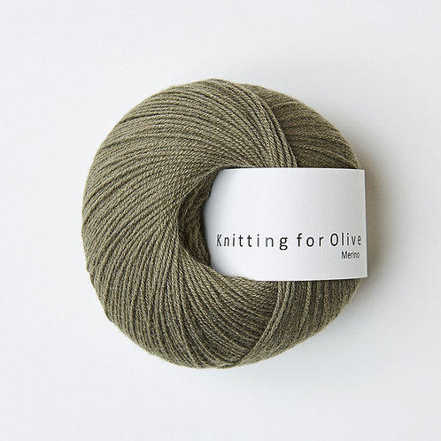 Dusty Olive - Merino