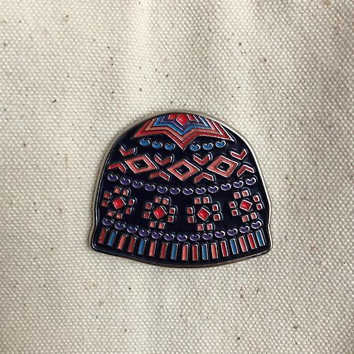 Shetland Wool Week pins