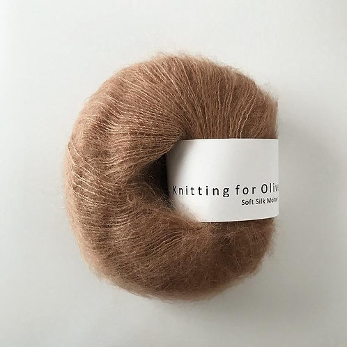 Brown Nougat - Soft Silk Mohair