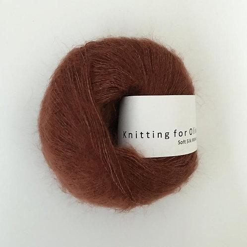 NEW Rust - Soft Silk Mohair