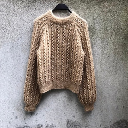 Vaffelsweater- Danska