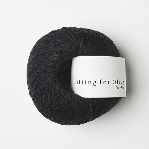 Pure Silk- Kul/ Charcoal
