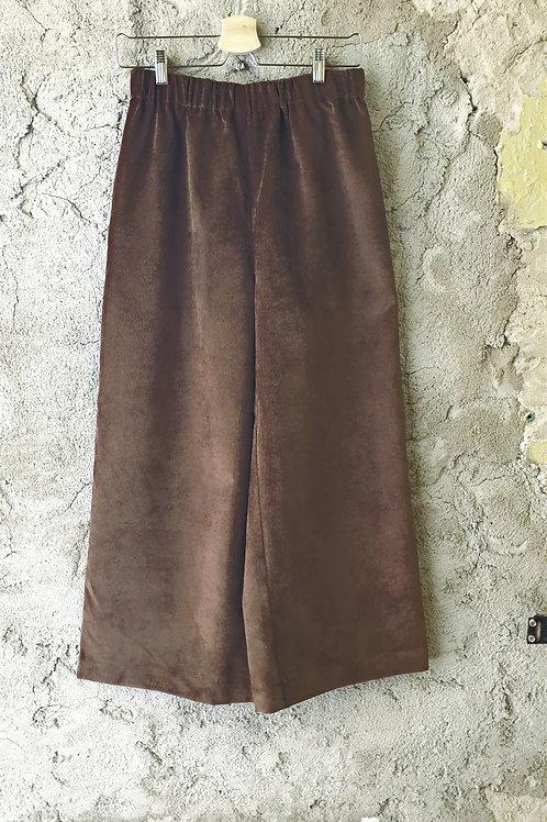 Culottes i Manchester brun