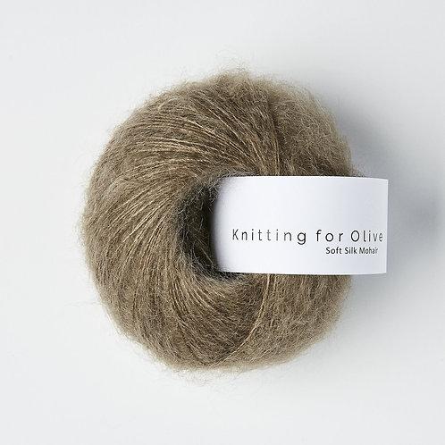 Hazel/ Hasselnöt - Soft Silk Mohair