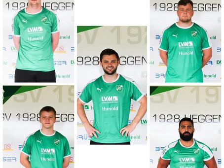SV Heggen 1 mit 5 Neuzugängen in die neue Saison