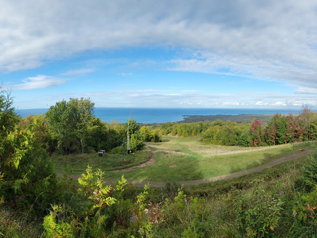 The Two Mountains - The Bruce Trail On Blue Mountain & Hitting Tennis Balls At Mountain View...