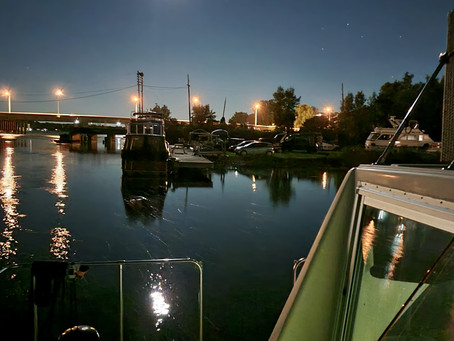 A Night At A Boat In Orillia, Ontario (Sept. 16)...