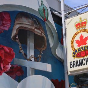 Evoking Emotion Through a Mural at The Legion in Castlegar, BC...